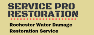 Rochester water damage service