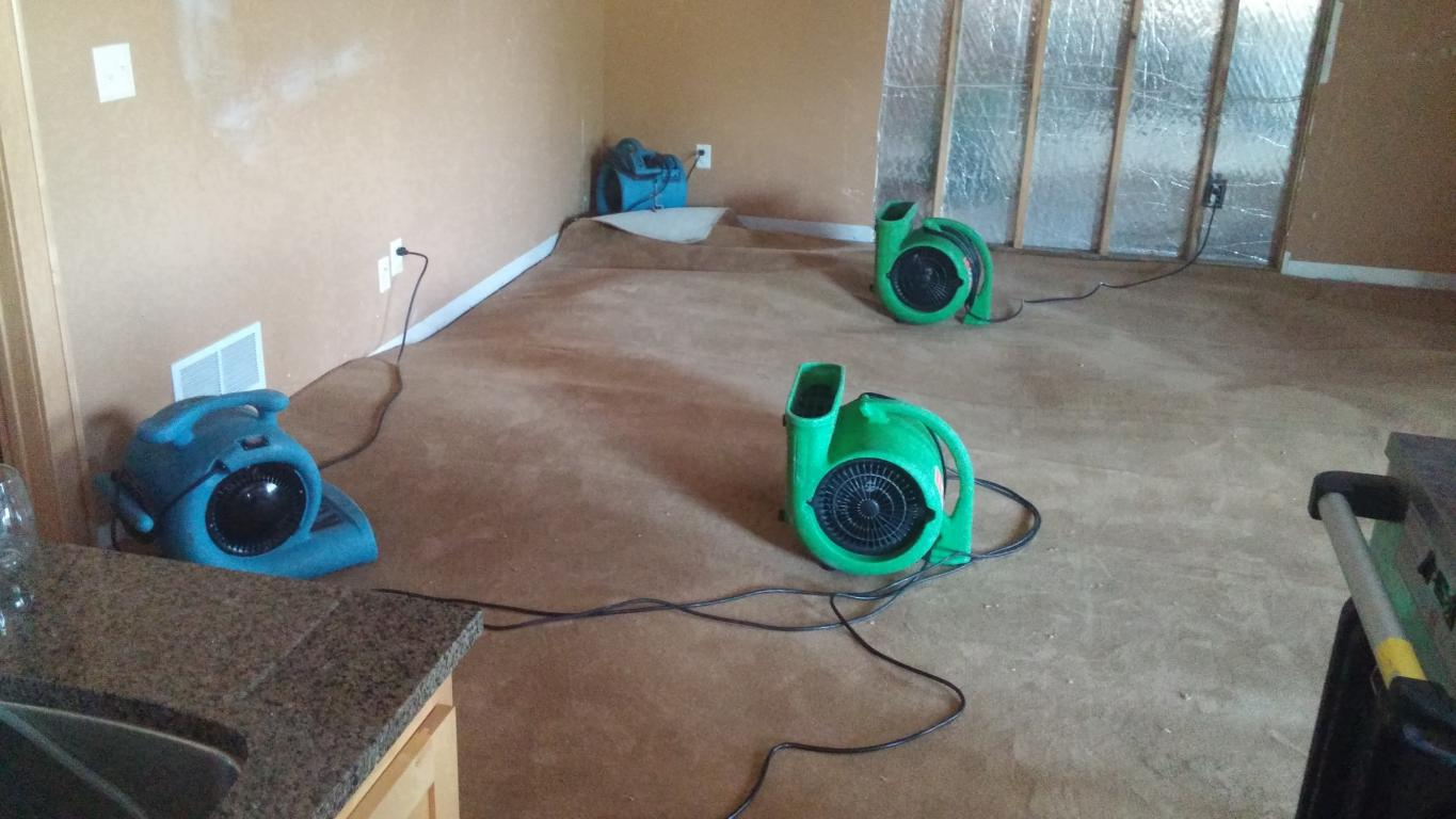 Prosper  water damage restoration service