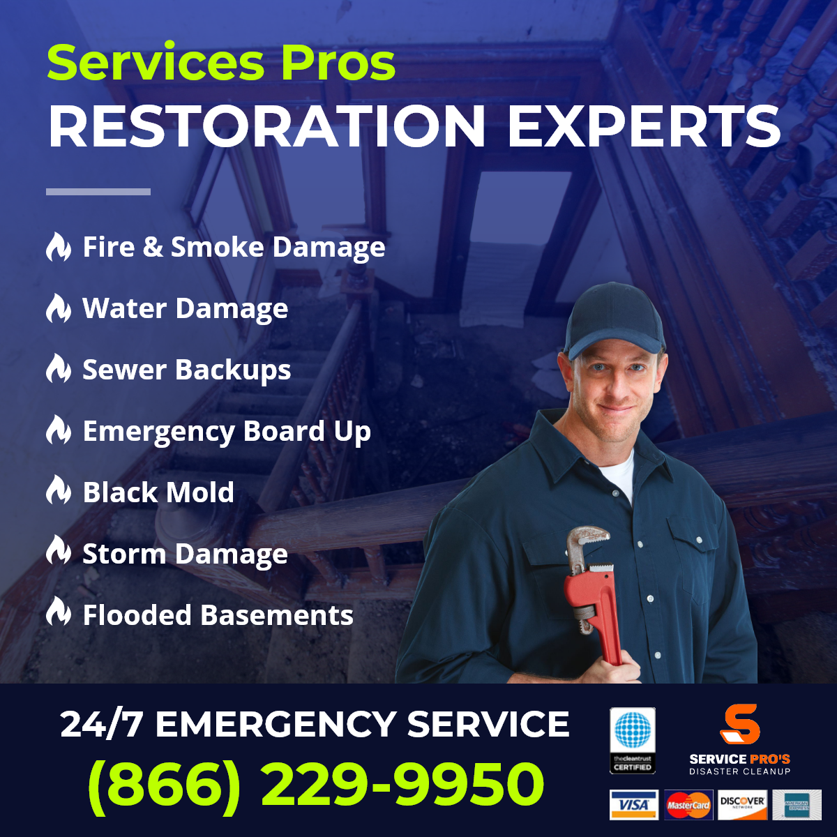 restoration company in Pledger